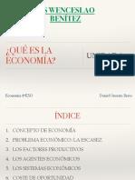 UD1 ¿Qué es la economía?