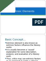 Extrinsic Elements