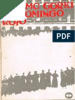 Máximo Gorki - El Domingo Rojo (Cuento)
