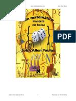 Un Matematico Invierte en La Bolsa - John Allen Paulos