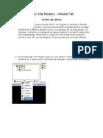 CursoSiteModeler Union de Dtms