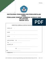 3004110843B 06a NON VOKASIONAL Instrumen Pengambilan Pengumpulan Data LKP