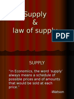 1. Supply