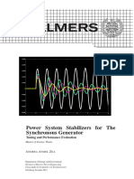 CHALMERS- Power System Stabilizers for Synch Generator.pdf