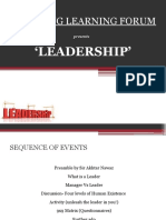 Presentation Leadership