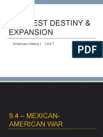 Mexican American War PPT