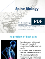 Topic 4 - Spine Biology