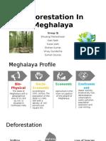deforestation in meghalaya