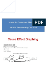 Lecture 8 - Cause and Effect Diagram