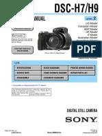 Sony Dsc-h7 h9 Level2 Ver1.4