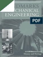 Landmarks in Mechanical Engineering