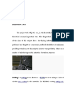 Drilling Notes