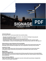 Analisis Signage