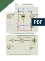 Simulacion de Circuito en Programa Proteus