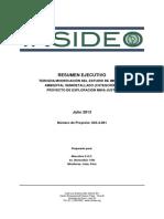 EIA Semi-Detallado 3era Modificación MIna Justa (2013)