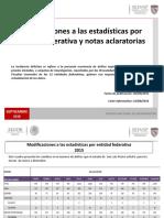 SEGOB - SESNSP - Estadísticas por Entididad Federativa - Agosto 2016