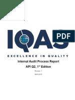 Q2 Audit Checklist
