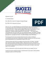 NY-03 GBA Strategies for Tom Suozzi (Sept. 2016)