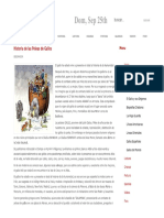 Historia de Las Peleas de Gallos