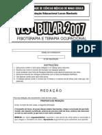 Fcmmg 2007 - Prova