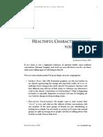 Healthful Characteristics of Church
