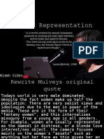 Mulveys Representation