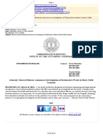 FW Attorney General Beshear Announces Investigation of Radioactive Waste in Boyd Estill Counties (464)