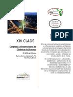 XIV CLADS2016 Tercer Llamado