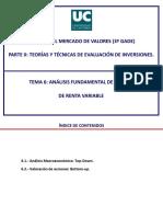 Analisis Fundamental Renta Variable