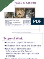 SEAONC Update of ASCE 41 Concrete Provisions (Moehle, Et Al. 2007)