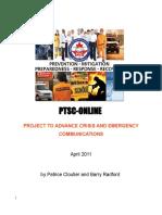 PTSC-Online Crisis Communications Project Compendium