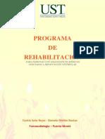 Proyecto Programa de Rehabilitación Vestibular