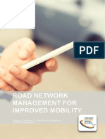 Road network management for improve mobility
