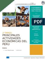 Principales Actividades Economicas