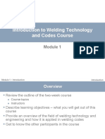 Introduction to Welding Technology