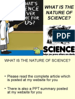 3330 What is the Nature of Science