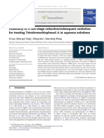 Feasibility of a Two Stage Reduction Subsequent Oxidation