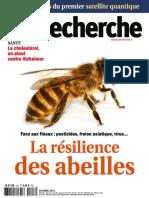 La Recherche - Octobre 2016