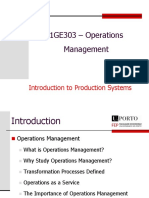 1 - Introduction Production Processes