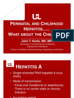 Dr Stutts Per i Childhood Hepatitis