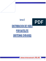 Distribucion de Video Por Satelite (Sistemas Dvb-s_s2)