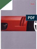 Audi RS4 Brochure 2000