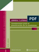 LENGUA y LITERTURA - Secundaria - Buenos Aires