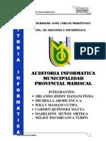 Auditoria Informatica-municipalidad Moquegua