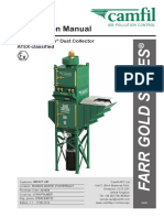 Camfil Farr Gold Series Dust Collector Instruction Manual