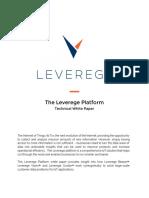 Leverege Platform White Paper