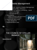 Council Stellar Management