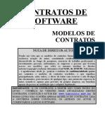 Contrato de Desenv Licenciamento de Uso e Comercializacao de Programa de Comp