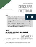 Geografia Electoral Apunte 2016