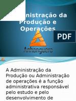 Atps Adm Produção e Operaçoes - Apresentação